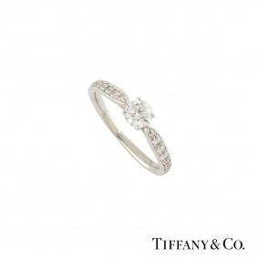 Tiffany Harmony Diamond Ring 0.32ct F/VS2